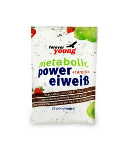 forever young power eiweiss Portionsbeutel Chocolat Noir