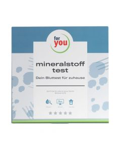 for you mineralstoff-test