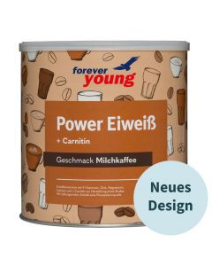 forever young Power Eiweiß Dose Milchkaffee