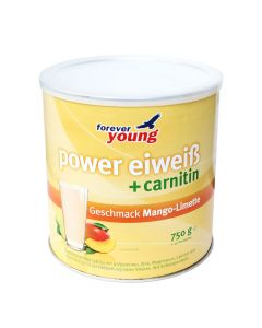 forever young power eiweiss Dose Mango-Limette