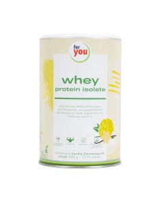 for you whey protein isolate Vanille-Zitronenquark