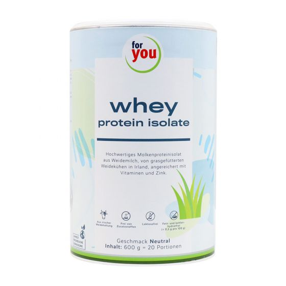 for you whey protein isolate neutral