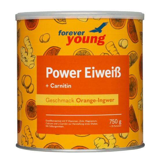 forever-young-power-eiweiss-Dose-Orange-Ingwer