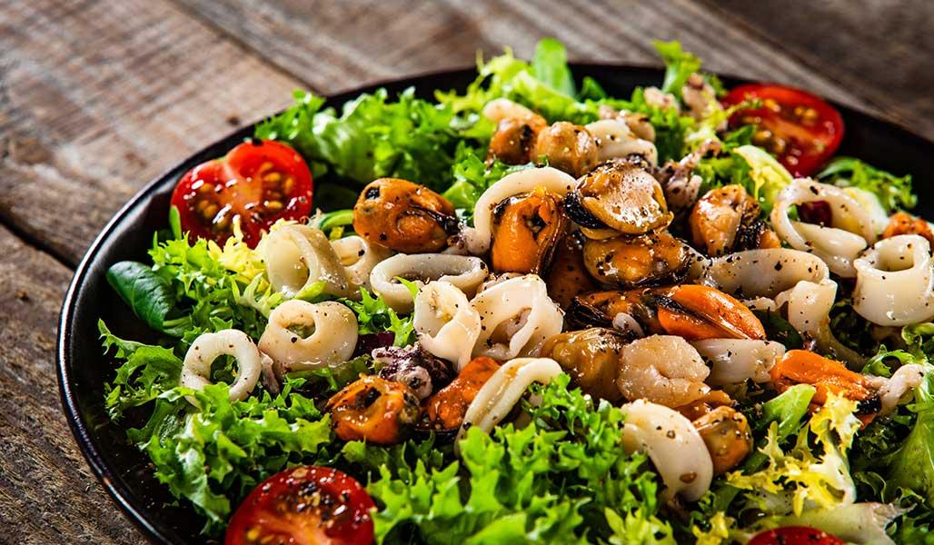 Thai - Meeresfrüchtesalat