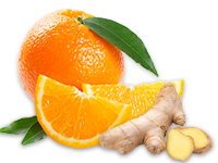 Orange-Ingwer